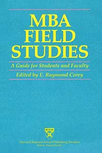 MBA Field Studies: A Guide for Students and Faculty
