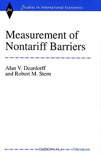 Measurement of Nontariff Barriers (Studies in International Economics)