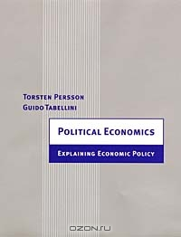 Political Economics: Explaining Economic Policy (Zeuthen Lectures)