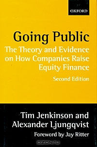 Going Public: The Theory and Evidence on How Companies Raise Equity Finance