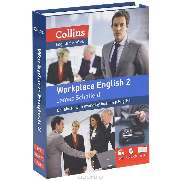 Collins: Workplace English 2  (+ CD,  DVD-ROM)