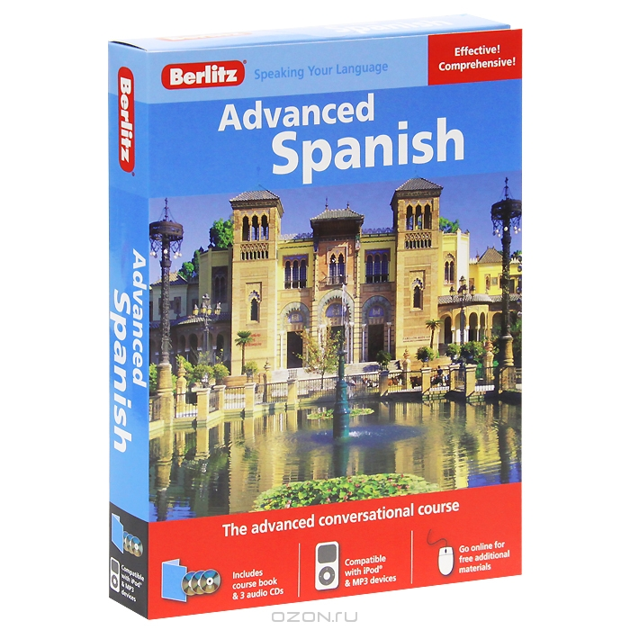 Berlitz: Advanced Spanish  (+ 3 CD)
