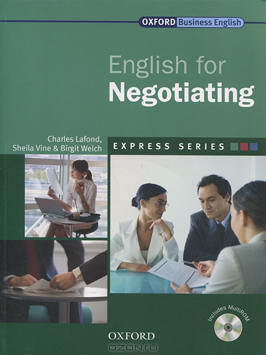 English for Negotiating  (+ CD-ROM)