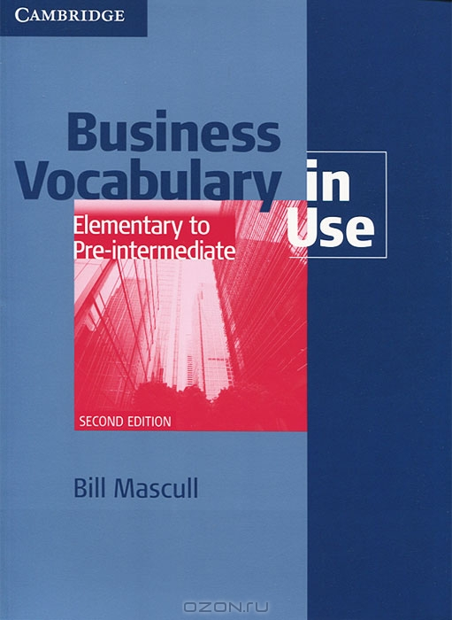 Business Voc in Use Elem to Pre-Int 2Ed Bk +ans