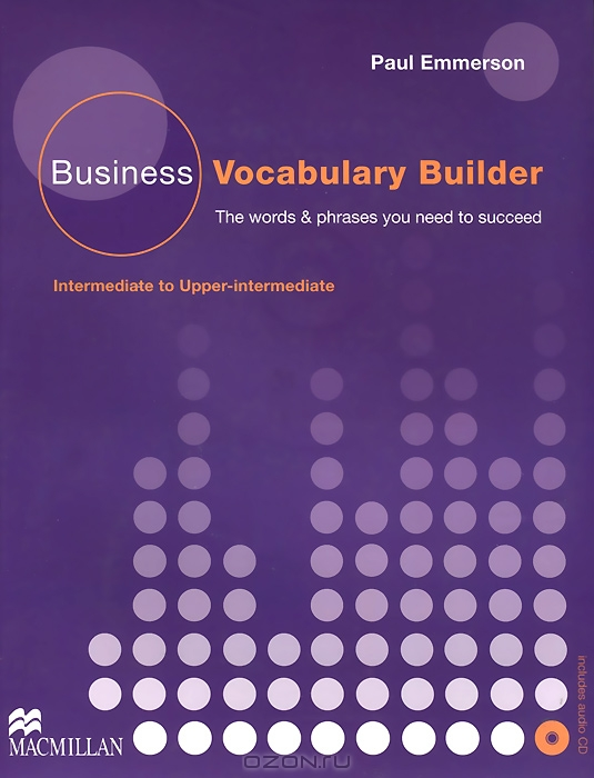 Business Vocabulary Builder Intermediate & Audio CD