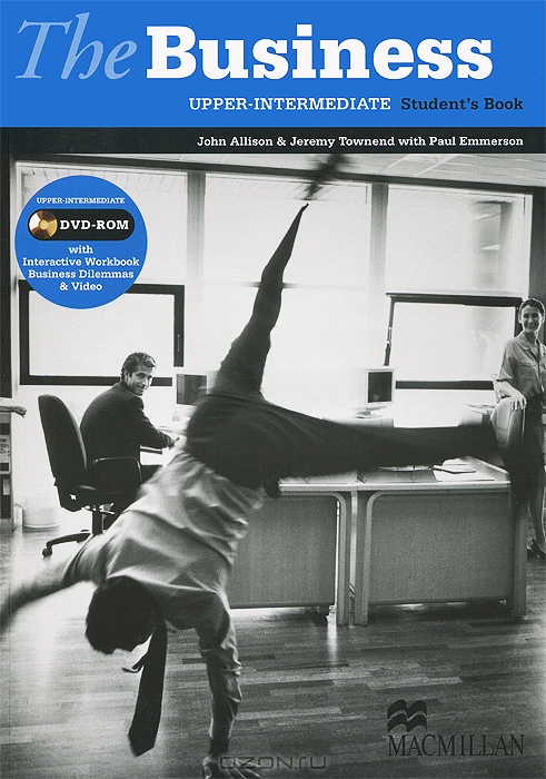 The Business Upper-intermediate: Student`s Book  (+ DVD-ROM)