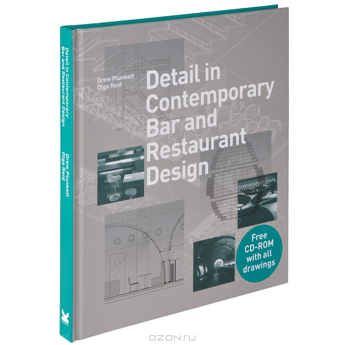 Detail in Contemporary Bar and Restaurant Design  (+ CD-ROM)