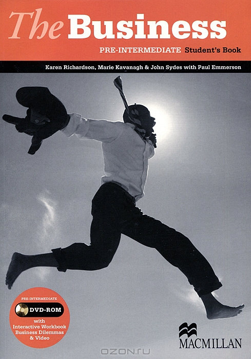 The Business: Pre-Intermediate: Student`s Book  (+ DVD-ROM)