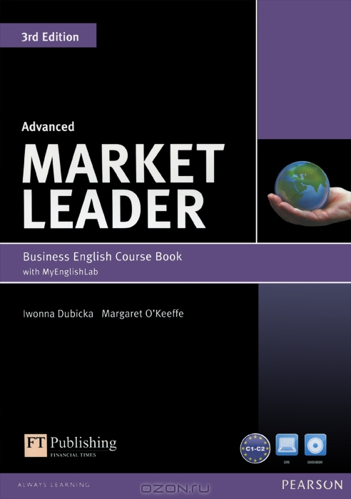 Market Leader 3rd Edition Advanced Coursebook with DVD-ROM and MyLab Access Code Pack