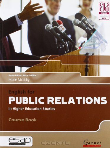 English for Public Relations in Higher Education Studies  (English for Specific Academic Purposes)