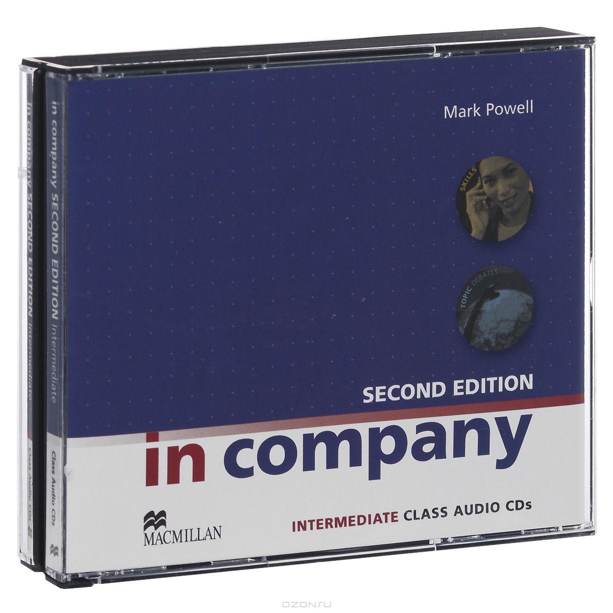 In Company: Intermediate: Class Audio CDs  (аудиокурс на 3 CD)