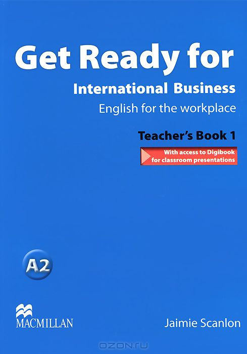 Get Ready for International Business 1: Teacher`s Book  (+ CD-ROM)