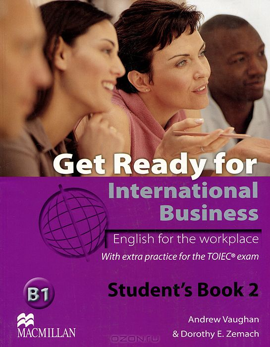 Get Ready for International Business B1: Level 2: Student`s Book
