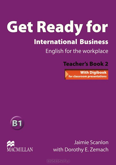 Get Ready for International Business: B1: Teacher`s Book 2  (+ CD)