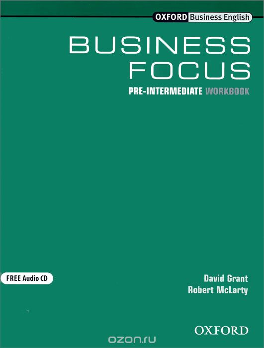 Business Focus: Pre-Intermediate: Workbook  (+ CD-ROM)