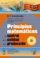 Principios matematicos del control de la calidad de la produccion