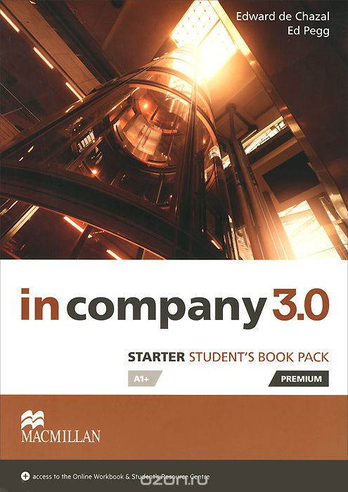 In Company 3. 0 Starter Level SB Book