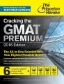 Cracking the GMAT Premium 2016