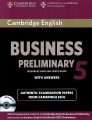 Business Preliminary 5: Student`s Book with Answers