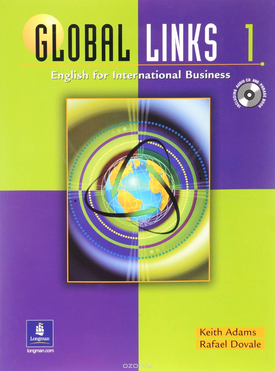 Global Links 1: English for International Business: Student Book and Phrase Book  (+ CD)