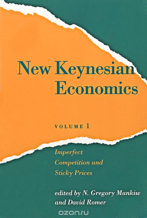 New Keynesian Economics: Volume 1: Imperfect Competition and Sticky Prices