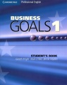 Business Goals 1: Student`s Book