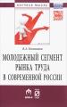 Молодежный сегмент рынка труда в современной России. Особенности формирования рабочей силы