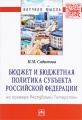 Бюджет и бюджетная политика субъекта Российской Федерации (на примере Республики Татарстан)