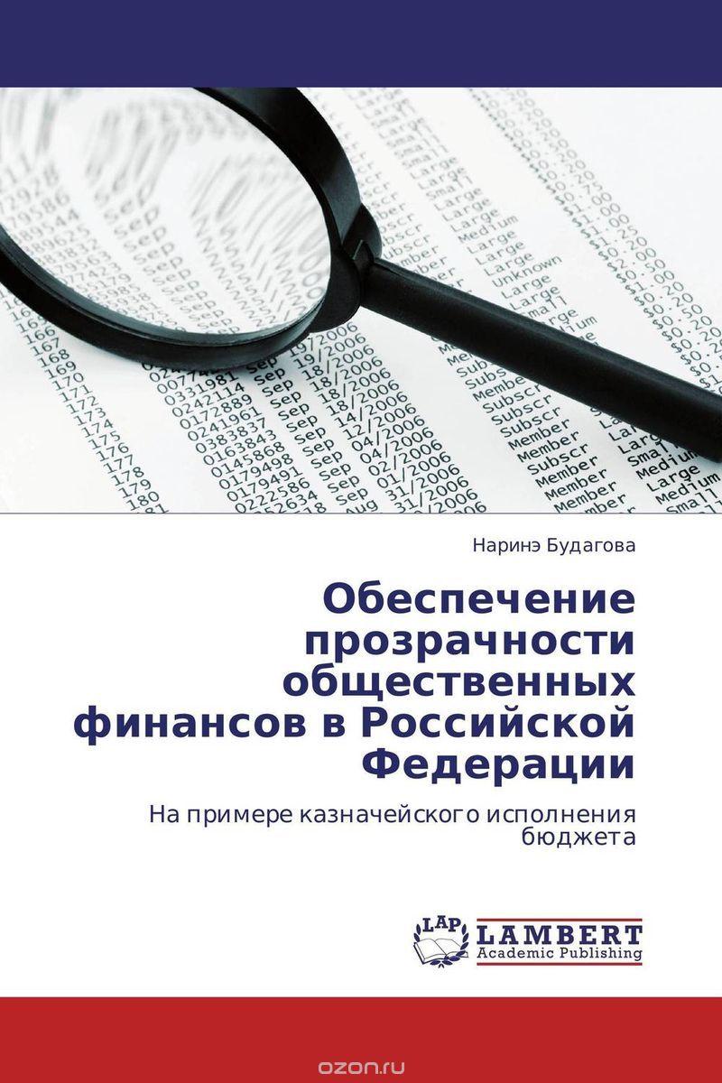 Обеспечение прозрачности общественных финансов в Российской Федерации