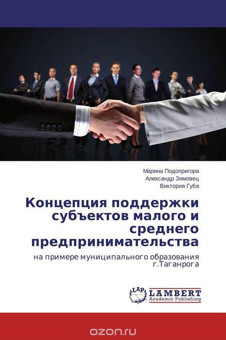 Концепция поддержки субъектов малого и среднего предпринимательства